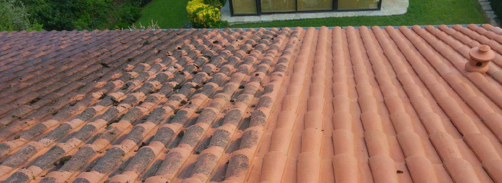 Nettoyage des toitures au pays basque dans les landes et dans le béarn
