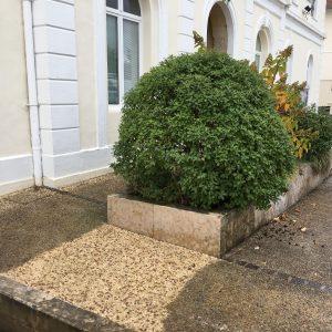 Hydrogommage du sol en béton à Biarritz Pays Basque