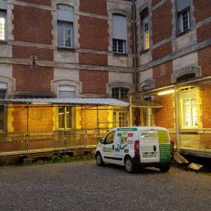 Traitement termites à l'Hôpital de Bayonne Pays Basque