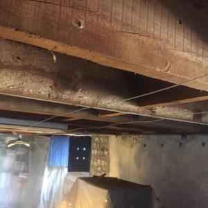 Traitement des vrillettes et des capricornes sur solivage en bois à Dax dans les Landes