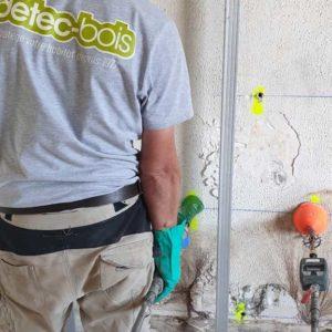 Traitement au Pays Basque des murs contre la mérule champignon lignivore