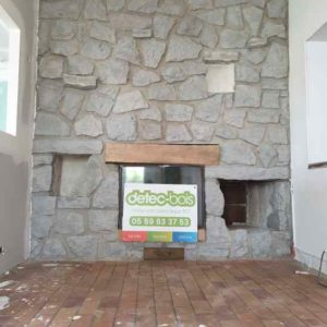 detec-bois realise le nettoyage des pierres par hydrogommage a saint pierre d'irube au pays basque