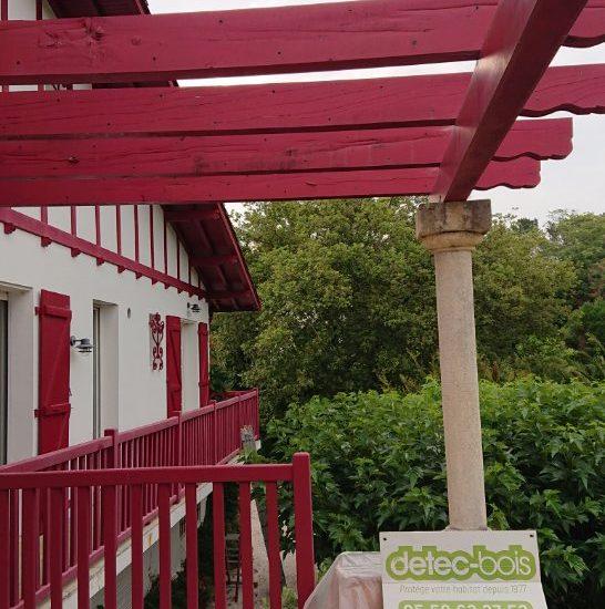 detec bois société de traitement de charpente a Arcangues au Pays Basque