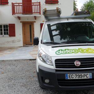detec-bois traitement de l'humidité et du salpêtre au pays basque a Ainhoa