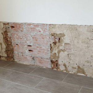 detec bois réalise le traitement des remontées d'humidité dans les murs par capillarité dans une maison à Orx dans les Landes