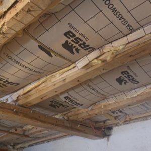 detec bois réalise le traitement contre les vrillettes et les capricornes de solives en bois à hasparren au pays basque