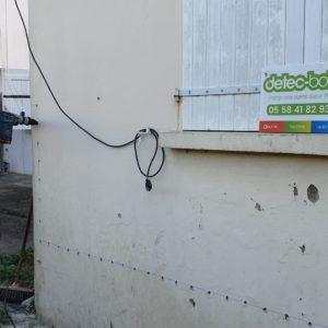 detec-bois lutte contre l'humidité dans les murs à st vincent de tyrosse