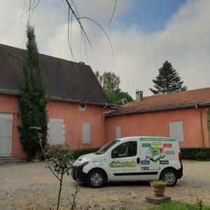 detec-bois traitement des termites dans les Landes dans une maison à Josse