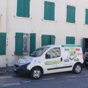 detec-bois traitement des termites à Biarritz dans une copropriété