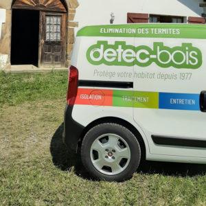 detec bois traitement des termites à La Bastide-Clairence au pays basque