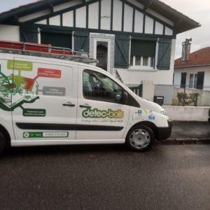 detec bois traitement de charpente à Biarritz