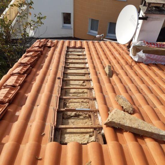 detec bois réalise l'isolation de la toiture à Urrugne