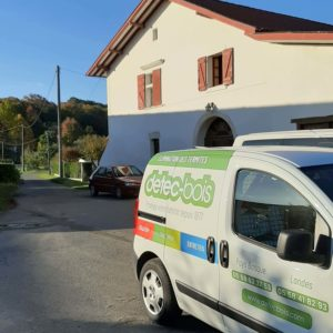 detec bois traitement des termites à Guiche au Pays Basque