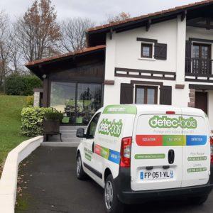 detec bois traite les termites a Anhaux Pays Basque